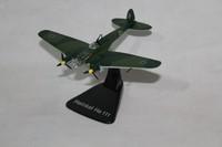 ATLAS 1/144 German Henkel He111 fighter plane model for World War ll