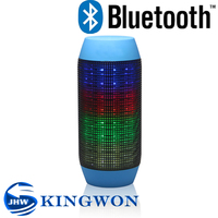 Kingwon Pulse Wireless mini Led Bluetooth Speaker, portable speaker with FM radio and as home theater dj speaker