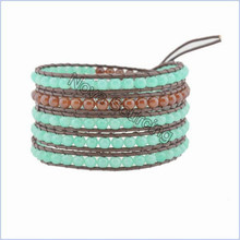 hot new products for 2015 diy braided leather bracelet