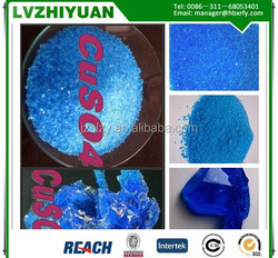 Anhydrous Copper sulfate with high quality and good price