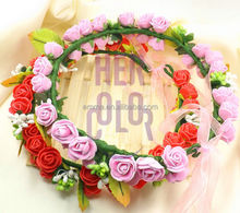2015 flower headband baby girl headbands wholesale baby girl Flower headband for party H5042