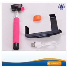 AWM155 Hot sale colorful z07-5 bluetooth extendable monopod