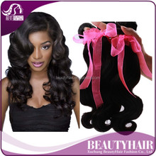 Free Sample 2015 BHF 8Inch-32Inch Long Body Wave 8A Virgin Human Hair Extensions