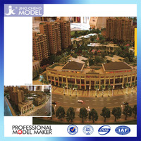 modern and fashion building scale models of house buildings