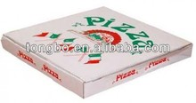 Best Selling China Manufacture Healthy White Recycle Paper Pizza Box/Food Paper Boxes