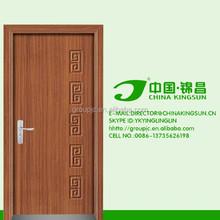 Llano DEIGN pintado moda puerta de madera maciza