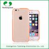 Best price TPU honeycomb pattern finish slim transparent colorful waterproof mobile phone case cover for Apple iphone 6