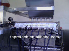 FAPRE S558 eight heads industrial continuous online date batch code number logo printing marking machine systems