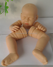 lastest fashion solid silicone babies/full body solid silicone baby doll kits/mini reborn silicone baby