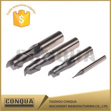 TialN coating solid carbide cutting tool flat germany cnc end mill