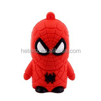 Spider Man cartoon USB drives/spider-man memory stick/gift pen drive
