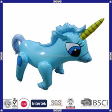 2015 cheap custom inflatable unicorn toy