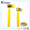 new products 2015 innovative product metal shoelace earphone with mic for mobile phone