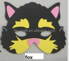 Kids Foam Toys Fox EVA Foam Mask for party