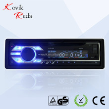A88 12V single din car DVD player with USB/CD/MP3/MP4/TF/AM/FM