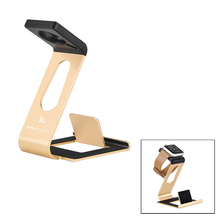2015 Newest HOCO Aluminum Alloy Stand for Apple Watch Charging Dock, Stand for iPhone and for iPad
