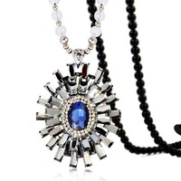 2015 Pinpai Fashion Jewelry Trendy All-match Overstate Daisy Korean Pendant Necklace/Coat Chain Clothing Accessory 301