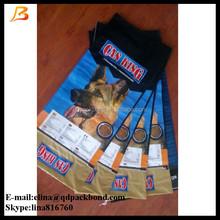 Customized printing animal feed bag plastic pp woven dog food 20kg bag