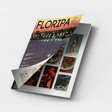 Product display magazine printing