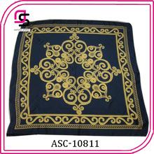 Quanlity elevado lenço designer 100% moda lenço de seda da china