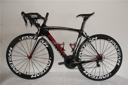 Top quality!2015 New Style complete carbon Racing Bicycle Cheap Carbon Fiber Road Bike free shipping