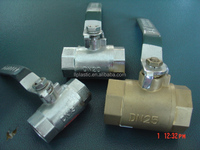 New technology water supply high pressure ball valve handle lock