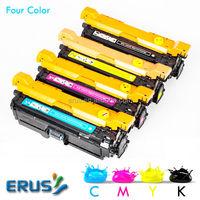For HP Color 3530 3525 CE250A CE250X CE251A CE252A CE253A Toner Cartridge