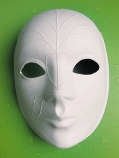 paper mache craft mask blank masks plain white buy blank mask