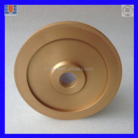 High Grinding Speed Vacuum Brazed Wet Diamond Grinding Wheel For Ceramic Tile Edge Grinding