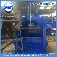 New Condition and Engineers available hydraulic vertical waste paper/plastic/cardboard baler machine