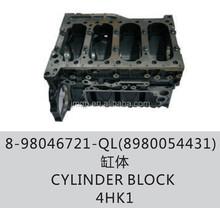 Cylinder block for ISUZU NPR 4HK1 OEM:8-98046721-QL(8980054431)