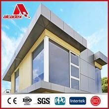 outside wall PVDF coating fireproof aluminum composite panel