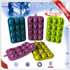 2015 new design totoro shaped ice cube machine,silicon nuts,plastic kitchen tray