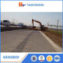 Low Cost Biaxial Plastic Geogrid For Road Reinforcement
