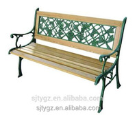 Grape decorative wood slats for cast iron patio bench from China