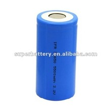 Power tools IFR 32650 rechargeable lithium ion battery 3.2V 5500mAh cylindrical li-ion battery cells