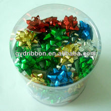 2014 Popular Machine Gift Star Ribbon Flower Bow and Ribbon Egg for wrapping present/flower/doll