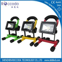 New design rechargeable led floodlight with USB controller or dimmable or RGB