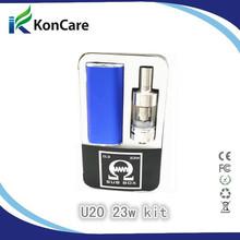 E- sigarette vapore tempesta v30 30w/u20 23w narghilè sigaretta elettronica liquido 2200mah mod box vape supporto subtank vs istick