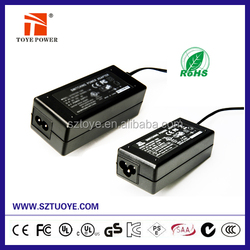 High Efficiency FCC CE CUL UL Approved 18V 2.5A switch model power supply