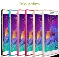 [hot] 2015 Good Quality factory price Original Case ultra slim metal bumper ultra thin for samsung galaxy note 4