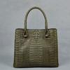 Newest genuine crocodile skin handbag_exotic handbag_crocodile tote