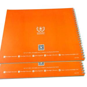 China impresora profesional fabricación espiral Tapa dura libro encuadernado en precio bajo