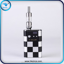 Multi use tool power bank & e cigarette vv vW 5-20w TMAX-S80 battery, support 0.5ohm-3ohm heat coil 2015 box mod