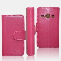 Wallet Flip Leather Case for Samsung Galaxy Fame S6810
