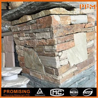 building decorative wall and floor used culture stone cladding