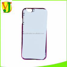Plenty supply, welcome order! Hard PC with Metal Plate Top Quality 2d sublimation phone case for iphone 6/6s