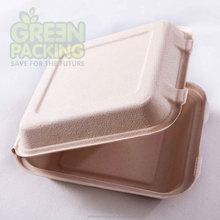 Wheat straw Tree free packaging takeaway clamshells