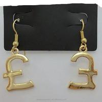 China Cheapest stock Jewelrys Eleghant Charming Women Drop Earrings Jewelry 2015 Fashion Pound Earrings
