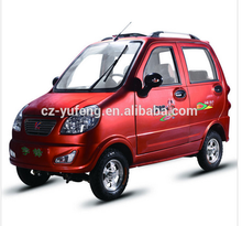 Yufeng factory four wheels electric automobile for adult pessenger